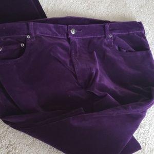 Diane GILLMAN velvet jeans